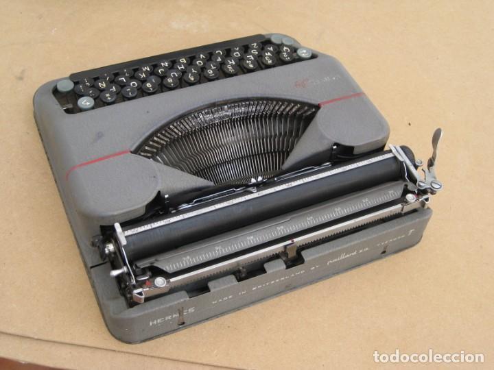 Antigüedades: Maquina escribir antigua. Hermes Baby. Suisse. - Foto 20 - 217529957