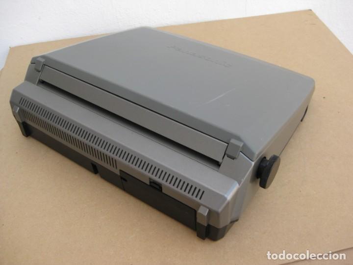 Antigüedades: Maquina electronica de escribir Panasonic R194 - Foto 12 - 217531693