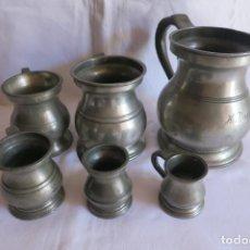 Antigüedades: MEDIDAS INGLESAS VICTORIANAS 1879 A 1901. Lote 217550405