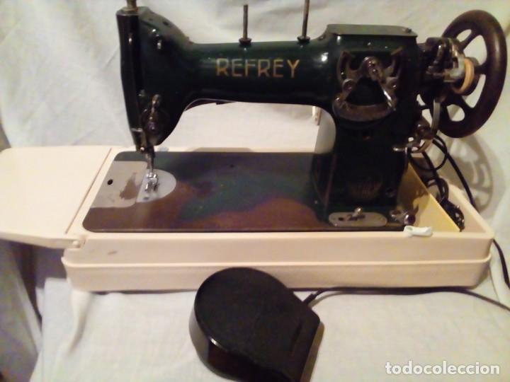 Antigüedades: maquina de coser REFREY - Foto 2 - 217625091