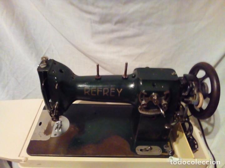 Antigüedades: maquina de coser REFREY - Foto 3 - 217625091