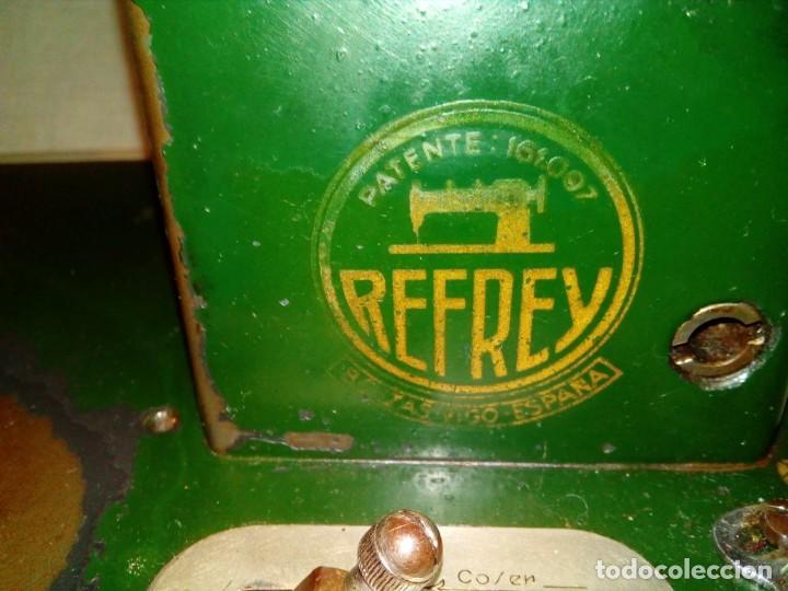 Antigüedades: maquina de coser REFREY - Foto 4 - 217625091