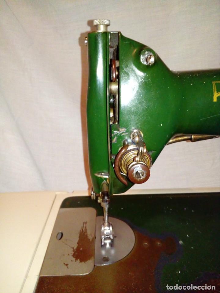 Antigüedades: maquina de coser REFREY - Foto 5 - 217625091