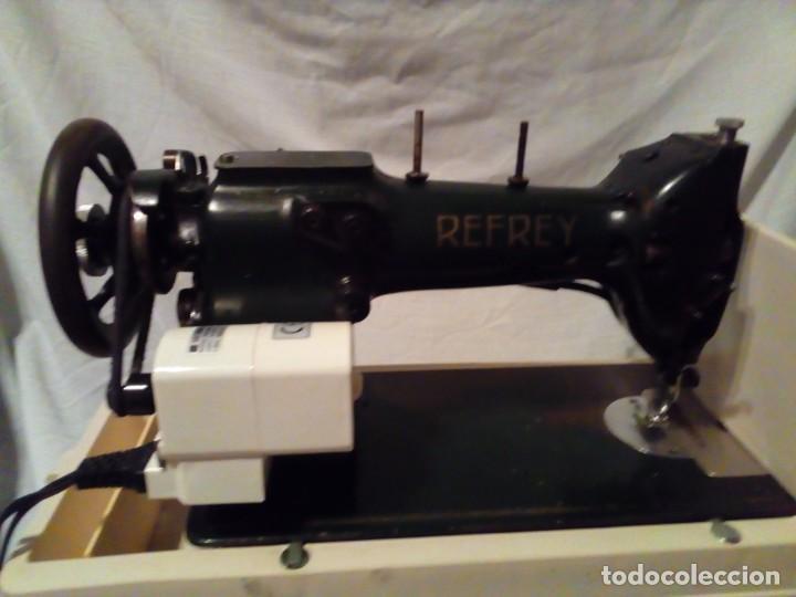 Antigüedades: maquina de coser REFREY - Foto 8 - 217625091