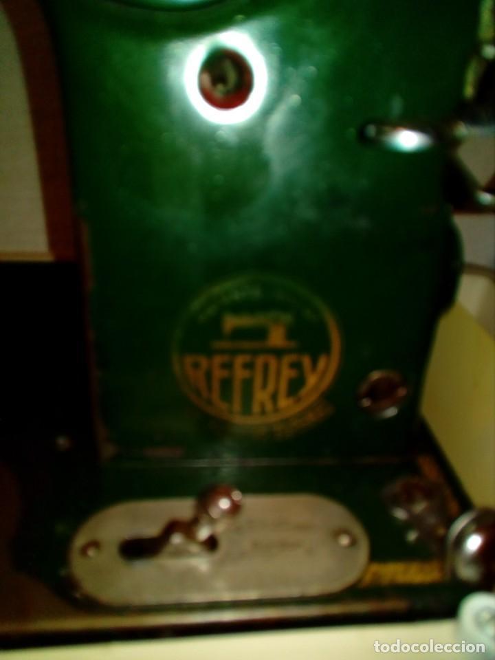Antigüedades: maquina de coser REFREY - Foto 12 - 217625091