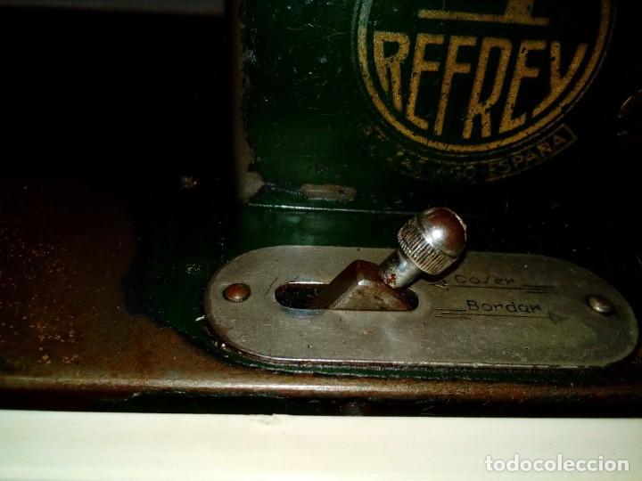 Antigüedades: maquina de coser REFREY - Foto 13 - 217625091