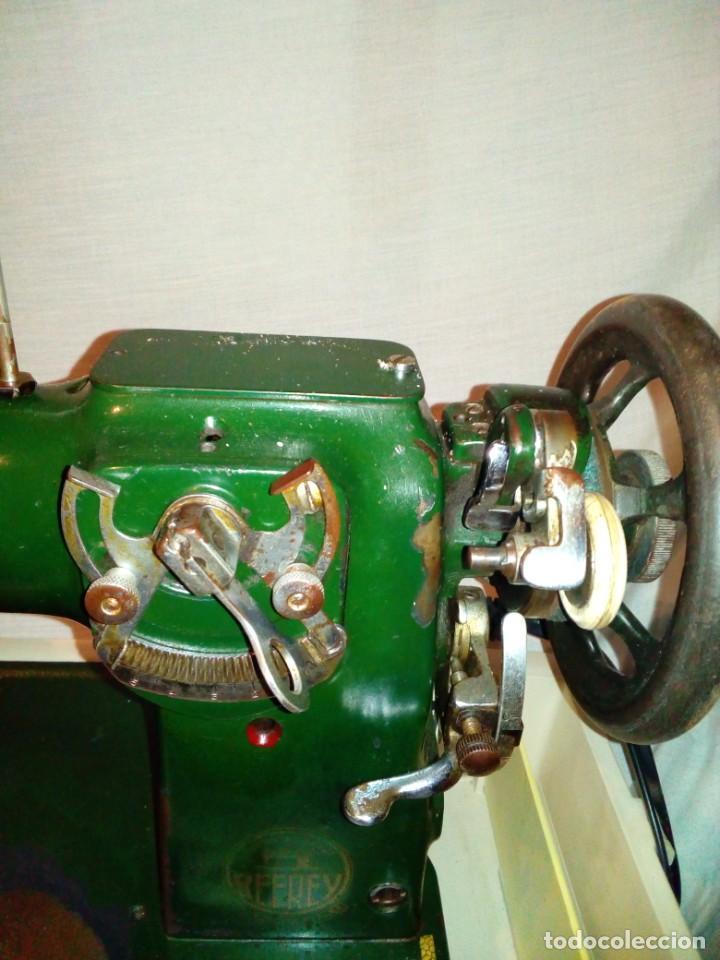 Antigüedades: maquina de coser REFREY - Foto 14 - 217625091