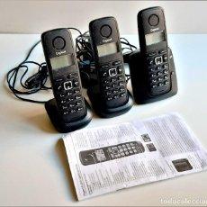 Teléfonos: SET DE 3 TELEFONOS INALAMBRICOS. Lote 217653638