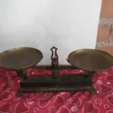 Antigüedades: ANTIGUA PESA BALANZA 10KG. Lote 217716360