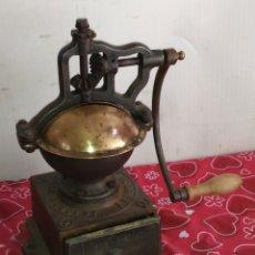 Antigüedades: ESPECTACULAR MOLINO DE CAFÉ PEUGEOT SIGLO XIX. Lote 217748763