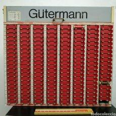 Antigüedades: EXPOSITOR DE HILOS COSER VINTAGE GUTERMANN. Lote 217811892
