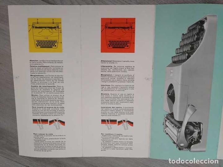 Antigüedades: MAQUINA DE ESCRIBIR UNDERWOOD 18 CON SU MALETIN E INSTRUCCIONES TYPEWRITER AÑOS 60 - Foto 71 - 217842040