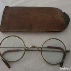 Antigüedades: ANTIGUAS GAFAS REDONDAS AÑO 1900 APROX.. Lote 217892305