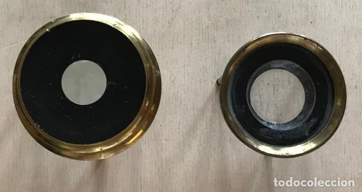 Antigüedades: Dos lupas de mesa alemanas de precisión, hacia 1890 - Foto 3 - 217894843