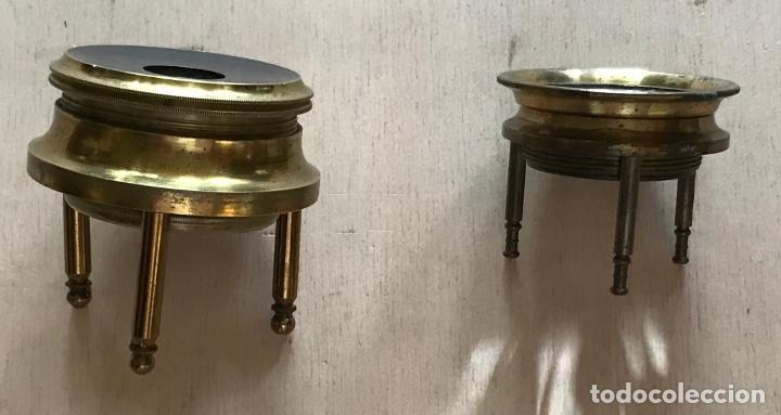 Antigüedades: Dos lupas de mesa alemanas de precisión, hacia 1890 - Foto 4 - 217894843