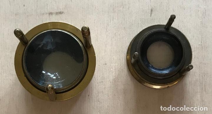 Antigüedades: Dos lupas de mesa alemanas de precisión, hacia 1890 - Foto 5 - 217894843
