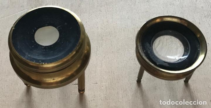 Antigüedades: Dos lupas de mesa alemanas de precisión, hacia 1890 - Foto 6 - 217894843