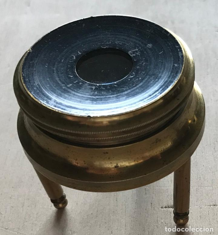 Antigüedades: Dos lupas de mesa alemanas de precisión, hacia 1890 - Foto 8 - 217894843