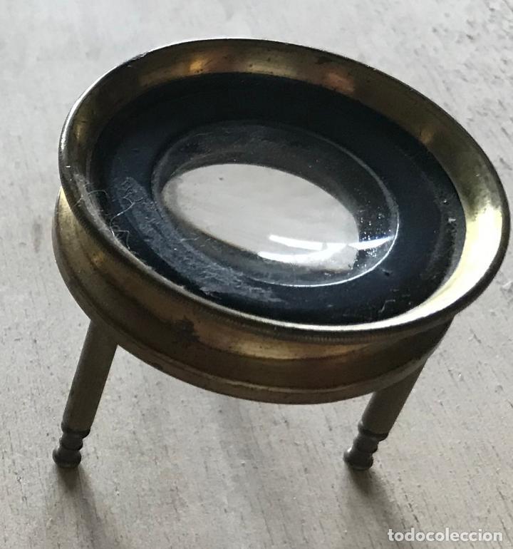 Antigüedades: Dos lupas de mesa alemanas de precisión, hacia 1890 - Foto 9 - 217894843