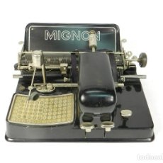 Antigüedades: ANTIGUA MAQUINA DE ESCRIBIR MIGNON Nº4 AÑO 1924 TYPEWRITER SCHREIBMASCHINE. Lote 217901498