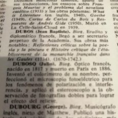 Antigüedades: TELESCOPIO DE DUBOSCH.. Lote 217908048