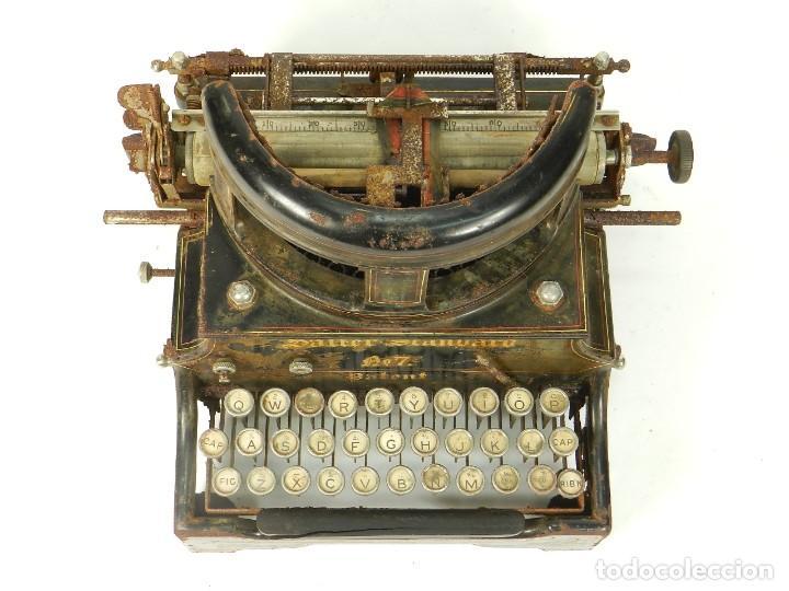 Antigüedades: ANTIGUA MAQUINA DE ESCRIBIR SALTER Nº7 AÑO 1907 TYPEWRITER SCHREIBMASCHINE - Foto 5 - 217925357