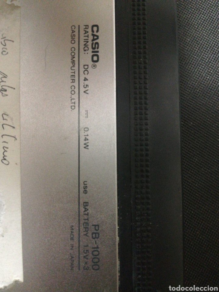 Antigüedades: Casio Pb-1000 Personal Computer. - Foto 3 - 217959230
