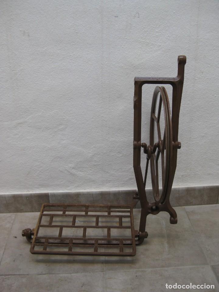 MECANISMO PEDAL PARA MAQUINA COSER ALFA. (Antigüedades - Técnicas - Máquinas de Coser Antiguas - Alfa)
