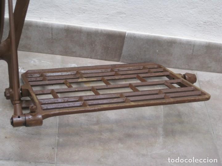 Antigüedades: Mecanismo pedal para maquina coser Alfa. - Foto 8 - 217967630