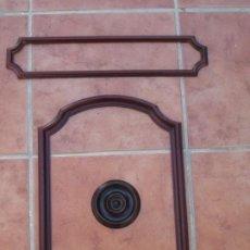 Antigüedades: MOLDURAS DE PUERTA DE MAQUINA DE COSER ALFA. Lote 217968191