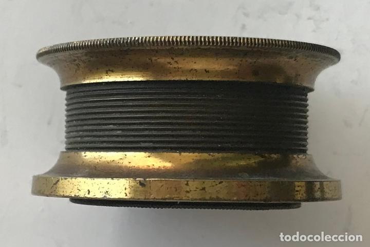 Antigüedades: Lupa alemana metálica de precisión, entre 1900 y 1930 - Foto 2 - 217977987
