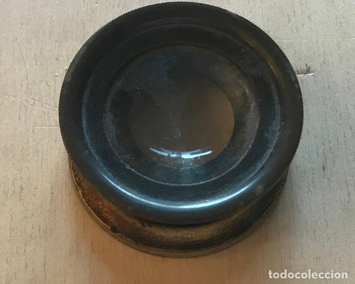 Antigüedades: Lupa alemana metálica de precisión, entre 1900 y 1930 - Foto 3 - 217977987