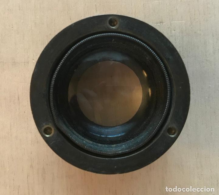 Antigüedades: Lupa alemana metálica de precisión, entre 1900 y 1930 - Foto 4 - 217977987