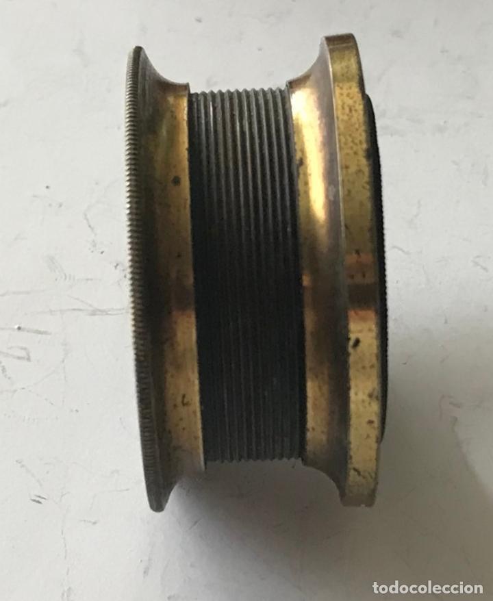 Antigüedades: Lupa alemana metálica de precisión, entre 1900 y 1930 - Foto 6 - 217977987