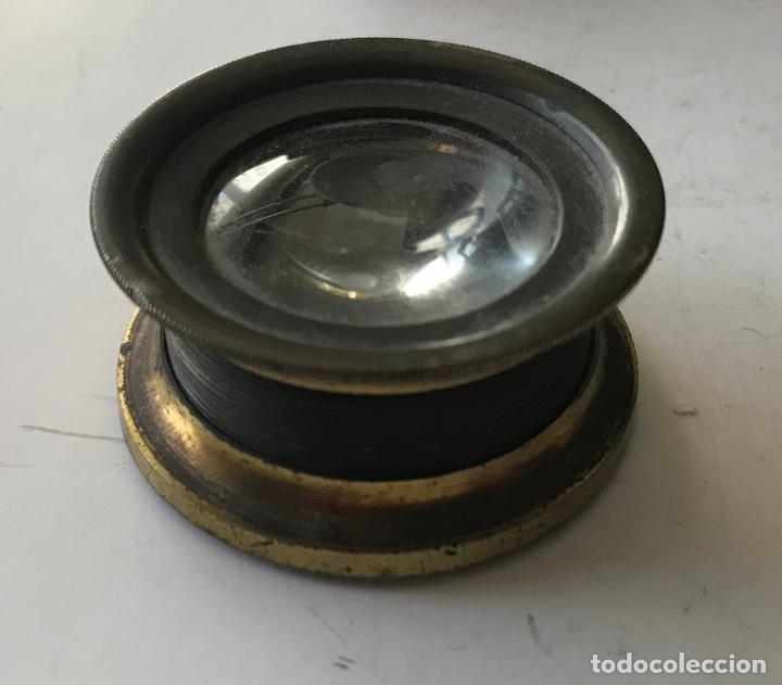 LUPA ALEMANA METÁLICA DE PRECISIÓN, ENTRE 1900 Y 1930 (Antigüedades - Técnicas - Instrumentos Ópticos - Lupas Antiguas)