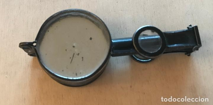 Antigüedades: Objeto múltiple con brújula, lupas, espejo y binaculares de finales del siglo XIX - Foto 9 - 217981827