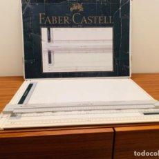 Antigüedades: FABER CASTELL. PLACA DIBUJO DISEÑO. TK-SYSTEM A3. ALEMANIA (RFA). 70S/80S.. Lote 218173480