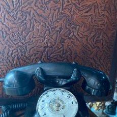 Teléfonos: TELEFONO NEGRO DE BAQUELITA ESPAÑOL. Lote 218203250