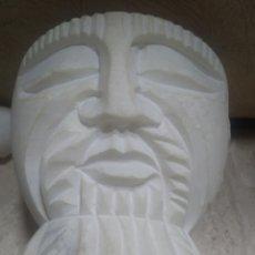 Antigüedades: MORTERO , ALMIREZ , ALABASTRO , TIPO ORIENTAL ÉTNICO EN MÁRMOL - MARBRA -. Lote 218238475