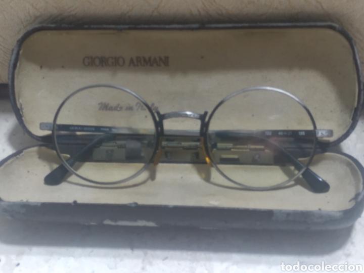 Antigüedades: Gafas Giorgio Armani vintage - Foto 10 - 218239833
