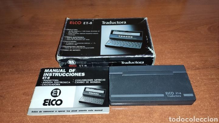 Antigüedades: Traductora Elco ET-8 - Foto 2 - 218253296