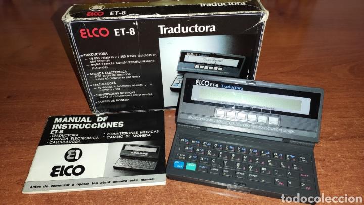 TRADUCTORA ELCO ET-8 (Antigüedades - Técnicas - Ordenadores hasta 16 bits (anteriores a 1982))