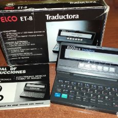Antigüedades: TRADUCTORA ELCO ET-8. Lote 218253296