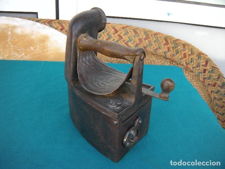 Antigüedades: PLANCHA DE CHIMENEA LICSA ELORRIO - Foto 7 - 218260888