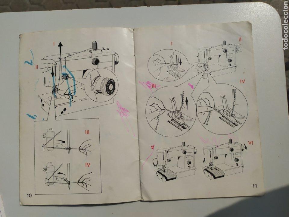 Antigüedades: Antiguo manual maquina coser Alfa, modelo 1680. Editado en 1975 - Foto 2 - 218276873