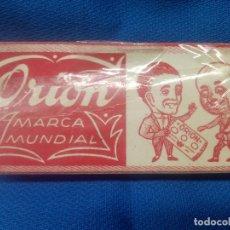 Antigüedades: CAJA CON MAQUINA DE AFEITAR ORION SIN ABRIR Y PRECINTO ORIGINAL * PIEZA UNICA * BARBERO.. Lote 218290910