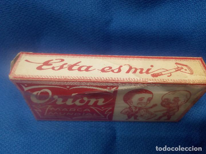 Antigüedades: CAJA CON MAQUINA DE AFEITAR ORION SIN ABRIR Y PRECINTO ORIGINAL * PIEZA UNICA * BARBERO. - Foto 2 - 218290910