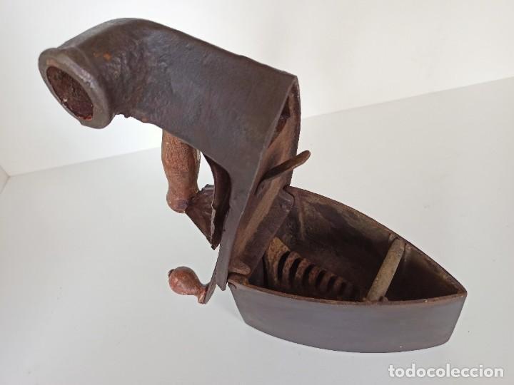 Antigüedades: Plancha de chimenea, AR y CA - Foto 2 - 218292551