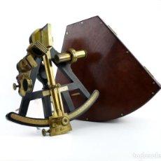 Antigüedades: QUINTANTE (OCTANTE,SEXTANTE) - INSTRUMENTO TÉCNICO MARÍTIMO NAVAL - UK, CA.1800. Lote 218315246
