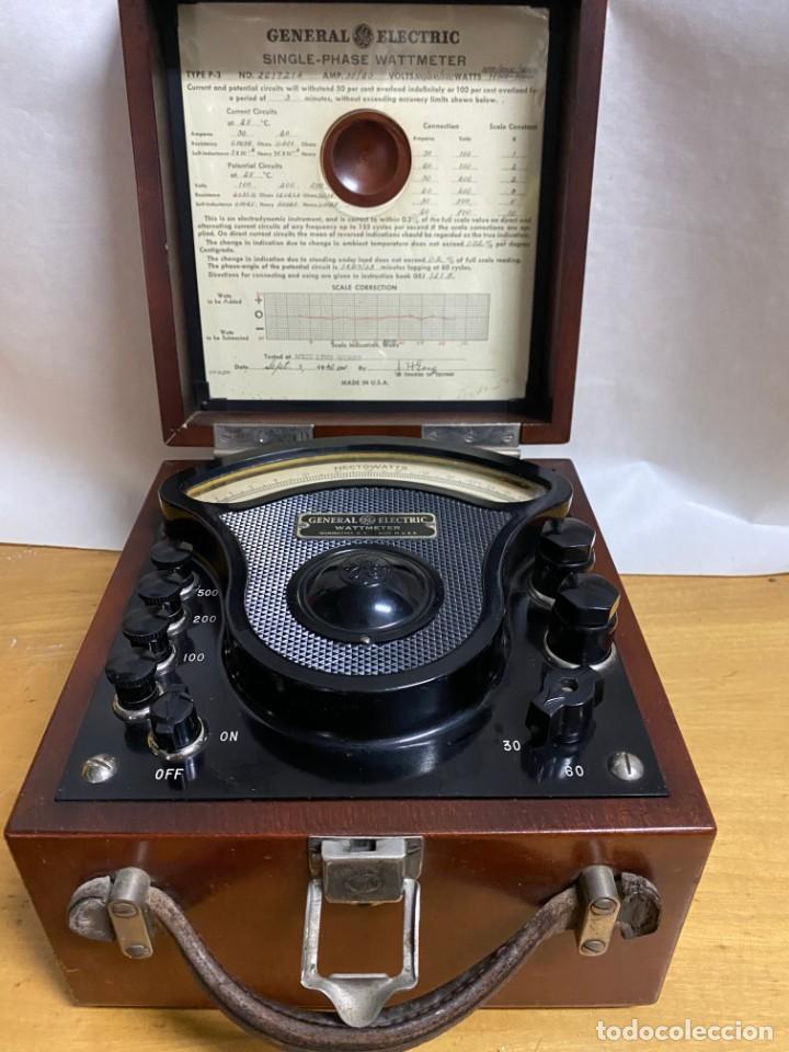 VOLTIMETRO GENERAL ELECTRIC 1916 (Antigüedades - Técnicas - Herramientas Profesionales - Electricidad)